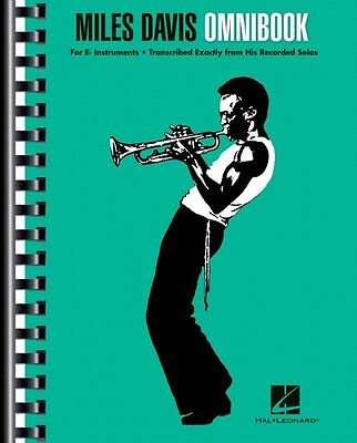 Miles Davis Omnibook For Eb Instruments Artist Transcriptions Book NEW 000122267 ()