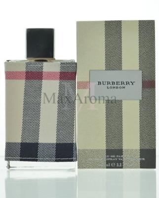 London By Burberry Eau De Parfum 3.3 OZ For Women NEW