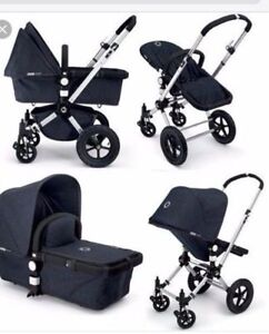 Bugaboo Cameleon 007 Denim Special Edition with Rain Cover