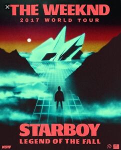 TWO TICKETS to THE WEEKND may 26 sec 319 row 10