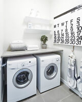 brand new Whirlpool washer and dryer set