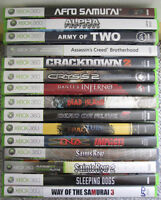 XBOX 360 GAMES ~ 3rd is FREE!!