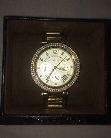 Michael Kors MK6056 Ladies Gold Plated Watch
