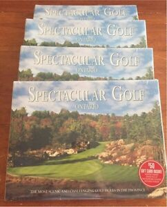 NEW Ontario Golf Hardcover plus $50 gift card