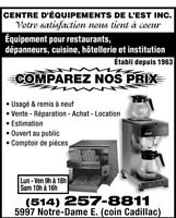 Equipement restaurant usage commercial industriel dans for Equipement de restaurant usage