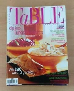 Australian Table magazines