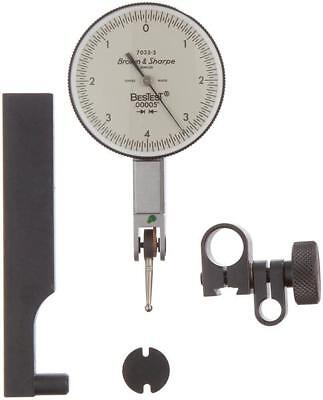 Brown Sharpe 599-7033-3 Bestest Dial Test Indicator .008 Range .00005 Grad