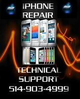 iPhone 4 4S 5 5S 5C 6 6+ Samsung LG Xperia LCD / Glass Repairs !