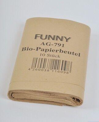 300 Papierabfallsäcke 10 Liter Biomüllbeutel Biomüll Papier Beutel Papierbeutel