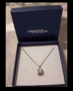 Cresent Gold&Diamond- Necklace