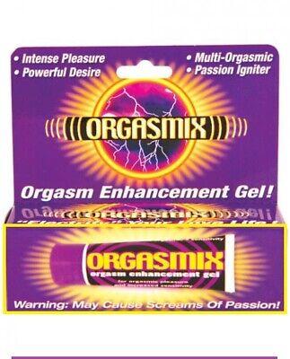 Orgasmix Female Orgasm Lube Enhancer Gel Arousal Stimulating Pleasure for Women
