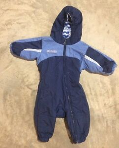 Columbia 12 month one piece snow suit