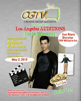 Looking for next 50 top Cdn Talent!  L.A. Auditions in Winnipeg