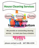 ✩ Cleaning services and post renovation! ✩ (647) 986-4194 ✩