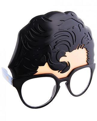 Superman Sunglasses Eye Glasses Mask Clark Kent Halloween DC Comics SunStaches