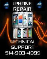 iPad iPod iPhones 4 4S 5 5C 5S 6 6+ Broken Glass LCD Repairs !!!