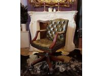Stunning Chesterfield captains chair