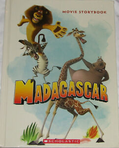 Qty 2 x Madagascar Movie Story Large Hard Cover Book London Ontario image 1
