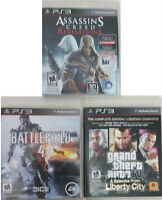 PS3 original games scratchless