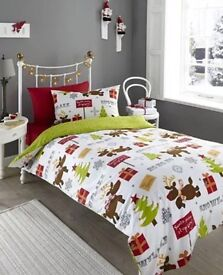 Xmas Bedding Single Brand New In Packaging