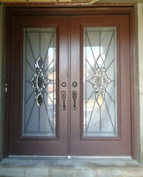 Wood French Double Doors