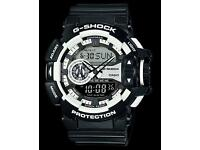 Casio g-shoch GA-400-1AER brand new!