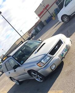 1997 Subaru Forester JDM ST/B turbo AWD safetied