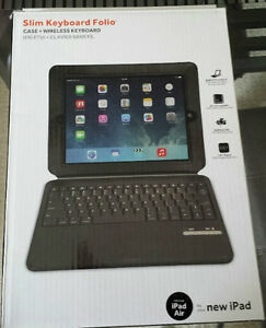 Griffin new iPad Air Slim Bluetooth Keyboard Folio Case Kitchener / Waterloo Kitchener Area image 2
