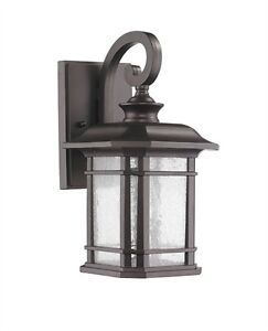 Exterior Outdoor Light Fixture Wall Sconce Porch Garage 12.75