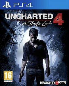 Uncharted 4 for PS4. Perfect condition