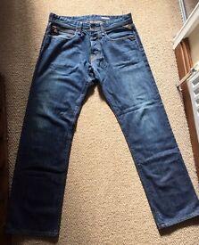 Mens Replay Jeans W32 L32