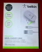 Chargeur pivotant Belkin + cable pour iPhone 5/5s, iPad Air/Mini