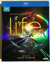 LIFE BBC Makers of Planet Earth & Blue Planet 4x Blu-Ray