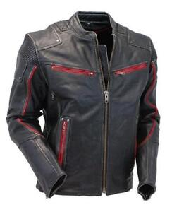 Men motorcycleJacket