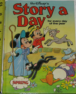 2 Disney Story A Day Hard Cover Book London Ontario image 2