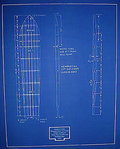 Hawaiian-Islands-Surfboard-Blueprint-Drawing-Plan-Hawaii-1932-20-x24-062