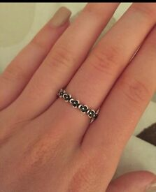 Size 52 Pandora flower ring