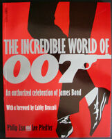THE INCREDIBLE WORLD OF 007 JAMES BOND 1992 1st PRINT NEAR MINT