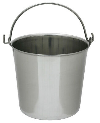Lindys Stainless-steel Pail 8 Qt