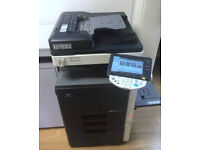 Konica Minolta C203 Color Laser Printer/Copier/Scanner/Mint/Toners Full...Superb Colour !