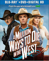 Million Ways to Die in the West Blu-ray combo