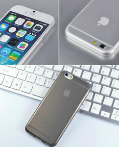 ULTRA THIN CLEAR SILICONE SOFT COVER CASE FOR IPHONE 6 SNAP ON Regina Regina Area image 3