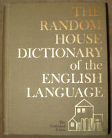 random house dictionary of the english language - unabridged