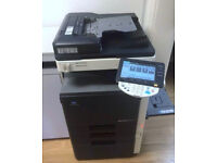 Konica Minolta Bizbub C203 Copier/Printer/Scanner/Mint/Toners Full?Superb Colour !