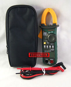 New Mastech MS2108A 4000 Counts AC/DC Current Voltage Clamp Meter