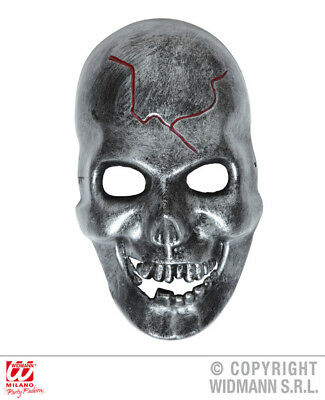 IRON LOOK SKULL MASK Accessory for Skeletal Head Skeleton Halloween Pirate Fancy - Halloween Look For Men