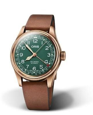 Oris Big Crown Pointer Date 80th Anniversary Edition Bronze Case Mens Watch Big Crown Pointer Date Watch
