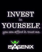 Invest in yourself. Start Isagenix and get great promotions