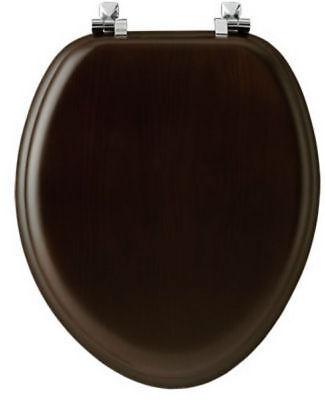 Mayfair 19601CP 888 Natural Reflections Veneer Toilet Seat w
