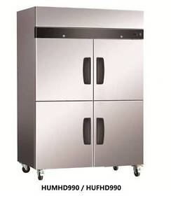 Commercial Fridges Four Half Door Stainless Steel Upright Fridge Belmore Canterbury Area Preview